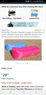 PINK AIR LOUNGER NEW IN BAG