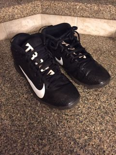 Nike baseball cleats 4.5y