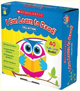 Scholastic I Can Learn to Read Collection