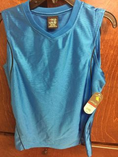 NWT boys blue muscle tee size L 14/16