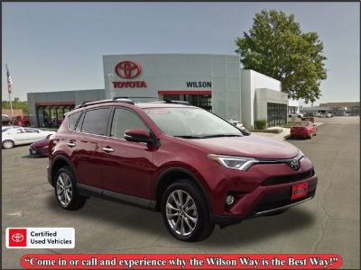 2018 Toyota RAV4 Limited (Red)