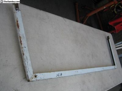 Thing upper windshield frame