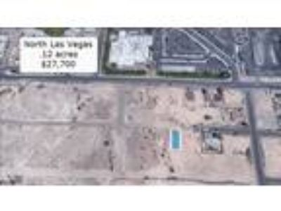 Land for Sale by owner in North Las Vegas, NV