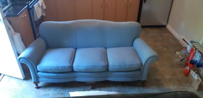 Antique Blue Couch