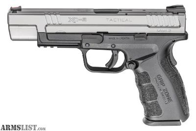 "For Sale: NEW! Springfield Armory XD Tactical 5""B 9mm 2 tone"