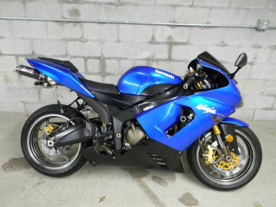 2005 Kawasaki Ninja ZX-6R SuperSport Motorcycles Springfield, MA