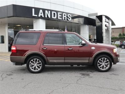 2015 Ford Expedition 2WD 4dr King Ranch (Red)