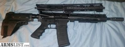 For Sale: Pistol ar 15 5.56 and 300 blackout uppers