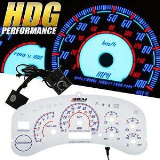 Buy 99 00 01 02 Chevy Silverado Reverse Indiglo Gauge Dash Cluster RPM Tachometer motorcycle in La Puente, California, United States, for US $19.99