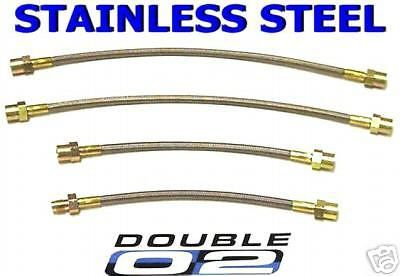 Sell BMW E21 Brake LINES Hoses 3-series 318 320 323 i Euro CUSTOM Stainless STEEL New motorcycle in Hayward, California, United States, for US $72.95