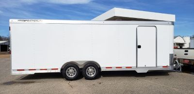 New 2019 24 Featherlite Model 4926 Enclosed Car Trailer