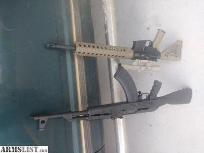 For Sale: Century AK47 & PSA AR15