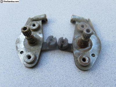 Porsche 356 Door Lock Opening Mechanisms