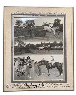 Vintage Horse Race Winner Print