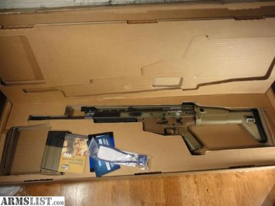 For Sale: FN SCAR 17 in FDE.