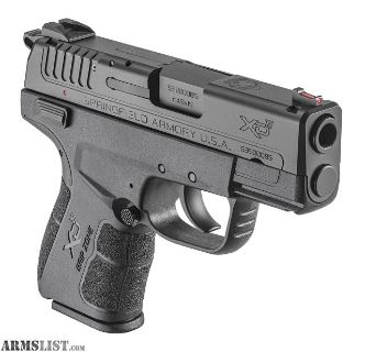 For Sale: Springfield Armory XD-E 3.3 SINGLE STACK 9MM