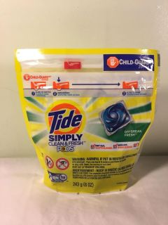Tide Simply clean and fresh daybreak fresh laundry detergent pods, 13 count. Sale