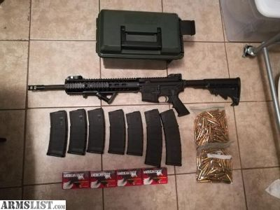 For Sale: PSA Mid-length AR-15 complete