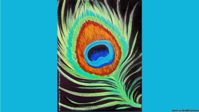 Folsom Studio 8/30~ Peacock Feather