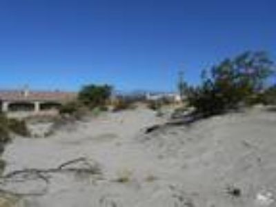 Desert Hot Springs, One of two Seller Buildable R1 Lots in