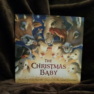 """Book, """"The Christmas Baby"""", New, with Paper Jacket"""