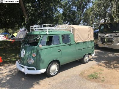 1965 Velvet Green Double Cab