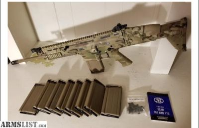 For Sale: FN SCAR 17 308 with Geisselle and 9 mags!