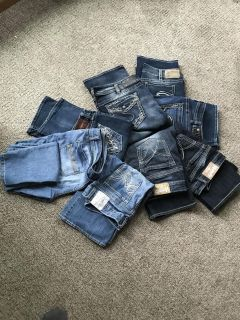 Jeans sizes 11-14