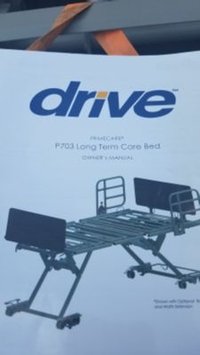 Long term care bed and mattress
