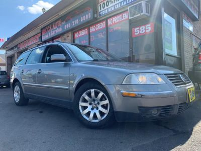 2001 Volkswagen Passat GLS V6 (Blue Silver Metallic)