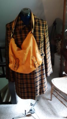 Womens Jacket and Purse