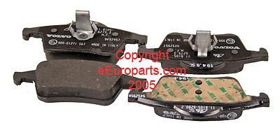 Purchase NEW Genuine Volvo Disc Brake Pad Set - Rear 30648382 motorcycle in Windsor, Connecticut, US, for US $69.87