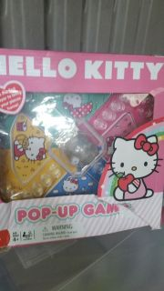 Hello Kitty Pop Up Game, GUC, Box is Torn