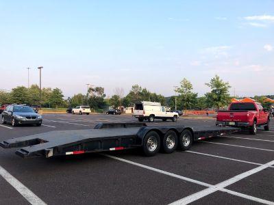 2006 imperial 34ft 2 car trailer