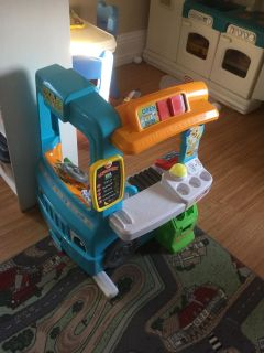 Brand New In Box Fisher Price Food Truck
