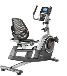 Like New FreeMotion 370R Commercial Recumbent Exercise Bike