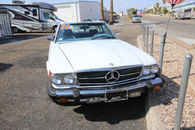 CLASSIC 1986 MERCEDES BENZ ROADSTER CONVERTIBLE 560SL