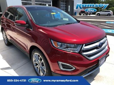 2018 Ford Edge Titanium (Ruby Red Metallic Tinted Clearcoat)