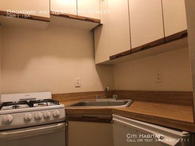 Ground floor Studio (11' x 11') with separate kitchen!