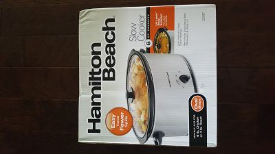 6-Quart Slow Cooker (Brand-New)