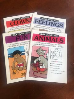 Sign Language Coloring Books