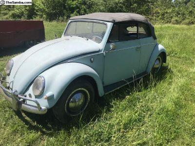 1956 VW Convertible