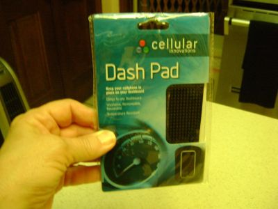 """""""Dash Pad"""" -- Keep Your Phone Safely On Your Dashboard"""
