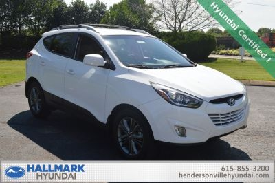 2014 Hyundai Tucson Limited (Winter White)