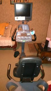 Exercise Bike with TV