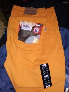 Womens designer pants by Pierre Cadin