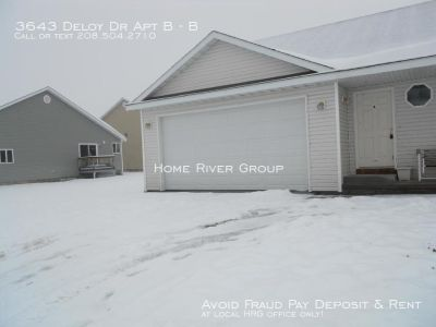 4 bd duplex in Ammon