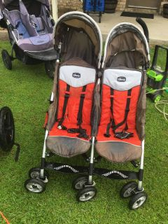 ISO Chicco side by side double stroller