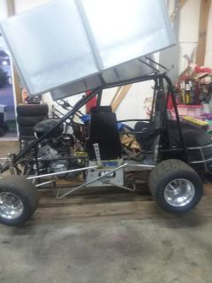 dirt sprint car