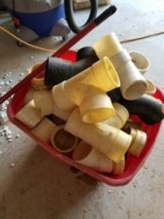 3 inch pipe fittings tote full